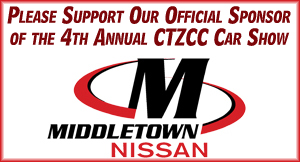 Middletown Nissan - Official Sponsor of the CTZCC Car Show